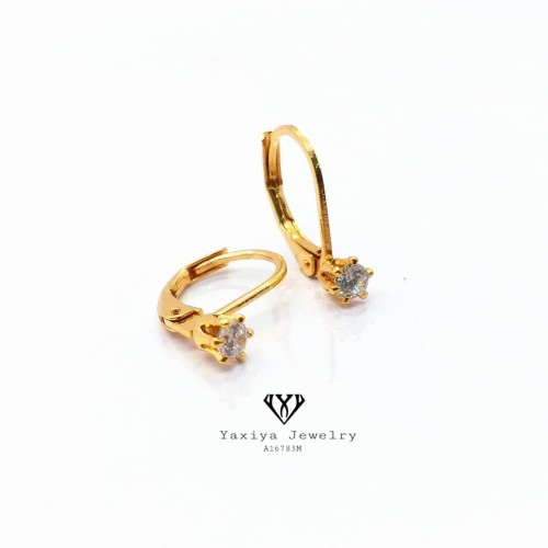 Foto Produk Anting Desi Perhiasan imitasi lapis emas 18K Yaxiya Jewelry A16783m dari YAXIYA JEWELRY