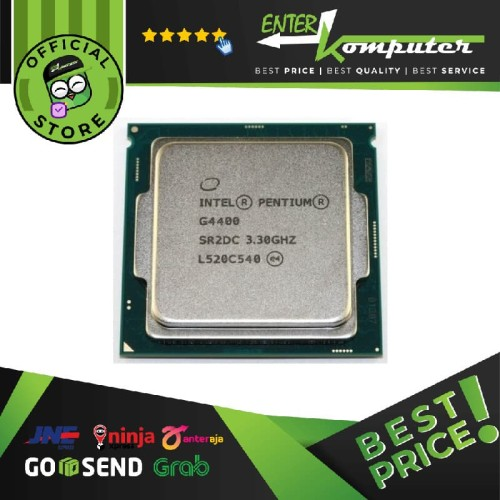Foto Produk Intel Pentium G4400 3.3Ghz - Cache 3MB [Tray] + Fan - Socket LGA 1151 dari Enter Komputer Official