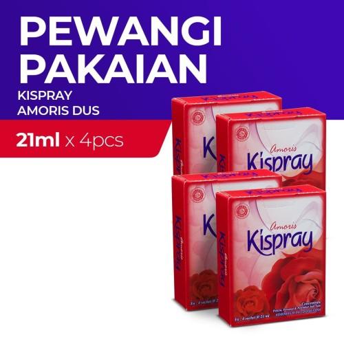 Foto Produk Kispray Dus Amoris 21Ml - 4 Dus dari Enesis Official Store