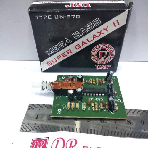 Foto Produk Kit Mega Bass Bazz Bas Super Galaxy II 2 UN 870 UNI dari DR ELEKTRONIK DEPOK
