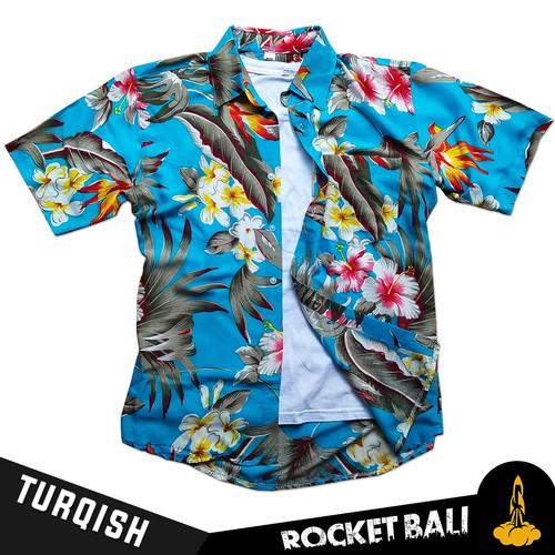 Foto Produk Kemeja Pantai Santai - Kemeja Pantai Distro - Kemeja Pantai Formal - Turqish, M dari Rocket Bali