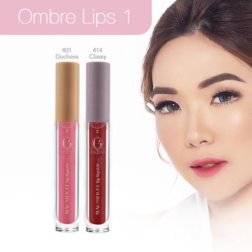 Foto Produk Madame Gie Paket Ombre Lips 1 - Paket B dari Madame Gie Official