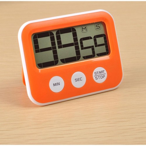 Foto Produk TIMER MASAK COUNT DOWN KITCHEN ALARM DIGITAL / STOP WATCH SPORT LARI dari tokosigma