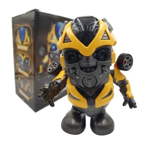 Foto Produk Bumble Bee Super Hero Dance Robot - Mainan Robot Goyang dari ciustoys