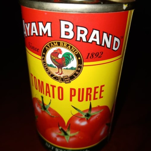 Foto Produk Ayam Brand Tomato Puree/Pasta Tomat/Tomato Pasta 160 gr dari Barudak Store