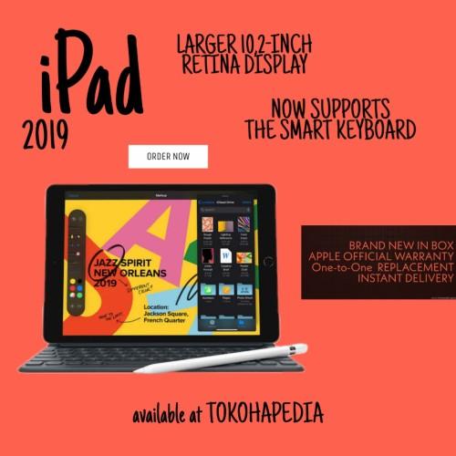 "Foto Produk New Apple iPad 7 2019 10.2"" WiFI 32GB - SPACE GRAY dari tokohapedia"