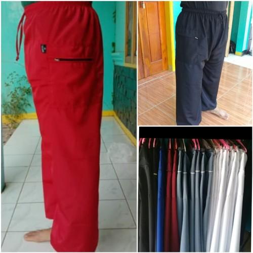 Foto Produk sirwal celana pangsi komprang terlaris full panjang - Putih, S dari bajupangsikonveksi
