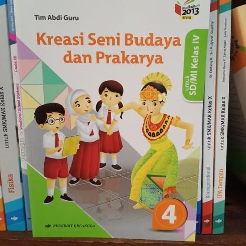 Foto Produk Buku Buku Kreasi SBK SD kelas 4 K13 revisi dari nadineempty