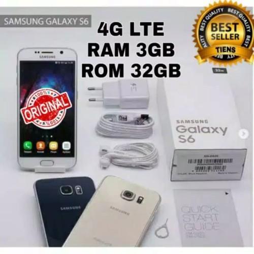 Foto Produk Buruan MURAH Samsung Galaxy S6 Fullset Docomo Ram 3GB Rom 32GB dari Olshop Edo