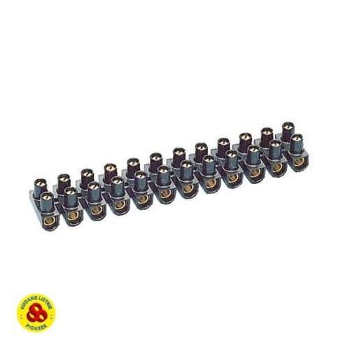 Foto Produk Terminal Krustin 4mm Hitam Klustin Sambungan Kabel 4 mm dari Gudang Listrik