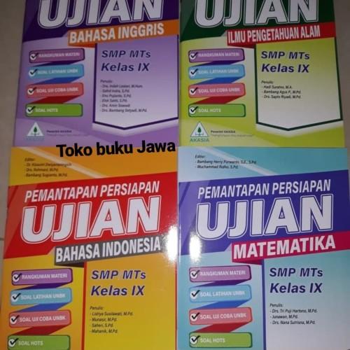 Jual Buku Pemantapan Persiapan Ujian Akasia Jakarta Timur Toko Buku Jawa Tokopedia