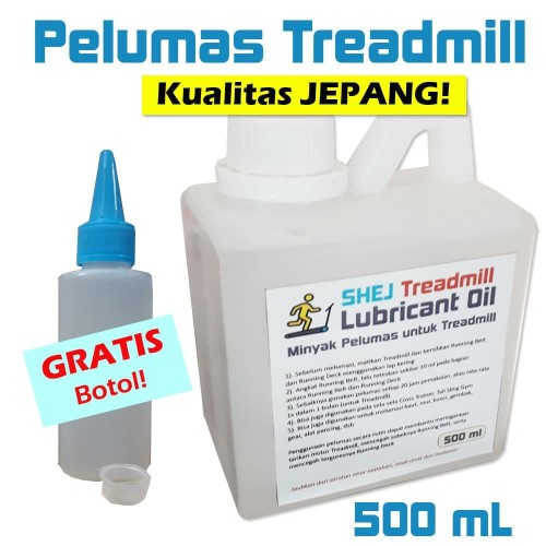 Foto Produk Pelumas Treadmill (Lubricant Oil) 500 mL - SHEJ Kualitas Jepang dari Tasneem