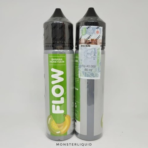 Foto Produk FLOW BANANA HONEYDEW BY DJUREKZ 60ML 3MG dari MONSTERLIQUID