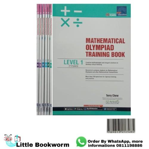 Foto Produk Mathematics Olympiad Training Book Level 1-6 - Level 4 dari Little Bookworm