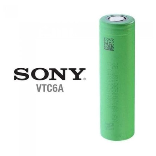 Foto Produk Battery Sony VTC6A VTC 6A 18650 Authentic dari kawat vape store