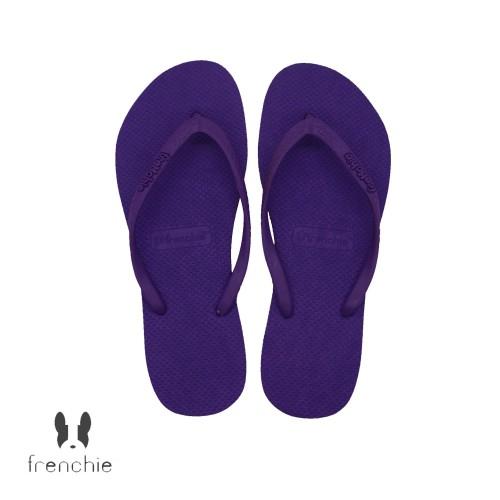 Foto Produk Frenchie Slipper Slim All Purple SSL04 - 35 dari FRENCHIEWAY