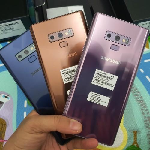 Foto Produk Samsung Galaxy Note 9 6/128GB SEIN Dual Sim Fullset Mulus - Varian A dari Pao Cell