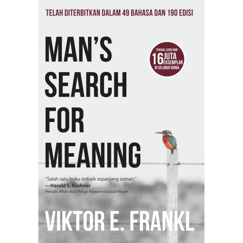 Foto Produk MANS SEARCH FOR MEANING dari Millennia Bookstore