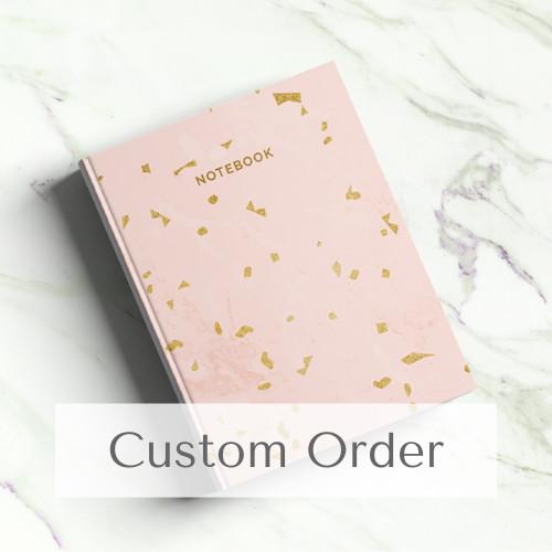 Foto Produk Custom Notebook A5 - 300 Halaman   Journal   Planner dari The Book ID