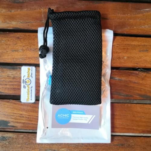 Foto Produk Pouch Jaring Acmic Tas Kemasan Carrying Case Powerbank dari Thewisest Okesop