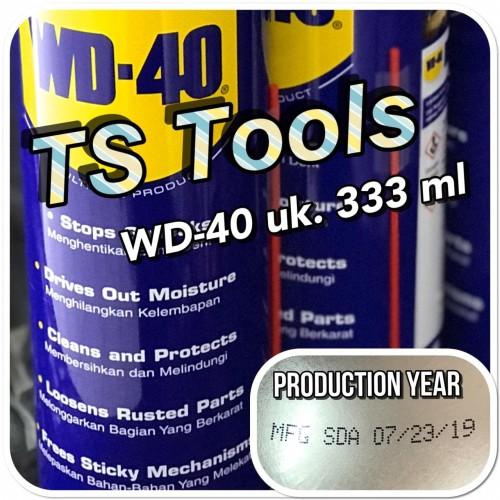 Foto Produk Pelumas WD 40 333 ML / WD40 333ML dari TS Tools