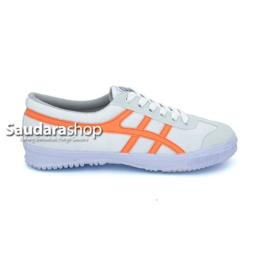 Foto Produk Sepatu Kodachi 8178 Putih lis Orange / Sepatu Kodachi 8178 Classic - 38 dari Saudara Shop