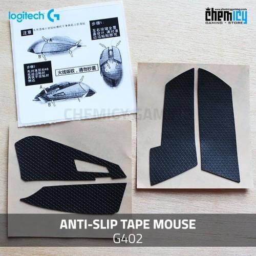 Foto Produk Hotline Anti Slip Mouse Tape Logitech G402 dari Chemicy Gaming