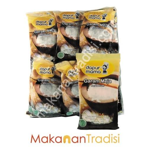 Foto Produk Garam Dapur Mama (20 pack kemasan 250 gram) dari Makanan Tradisi Id