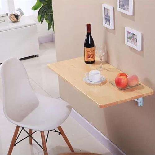 Foto Produk meja lipat dinding - meja laptop - rak - Hitam dari lapak daddy