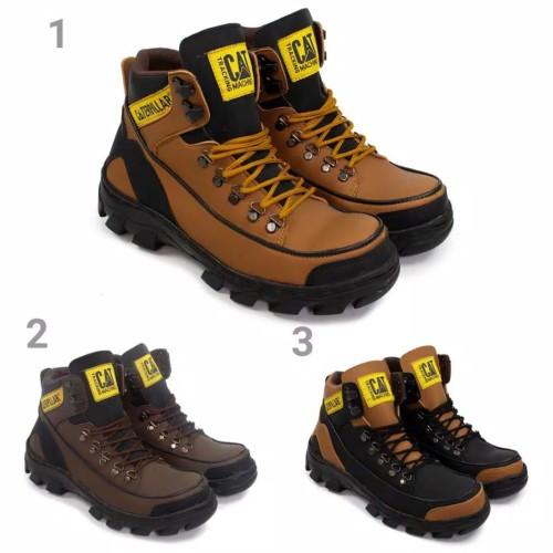 Foto Produk sepatu kerja/proyek/bikers caterpillar ground dari z1ra shoes