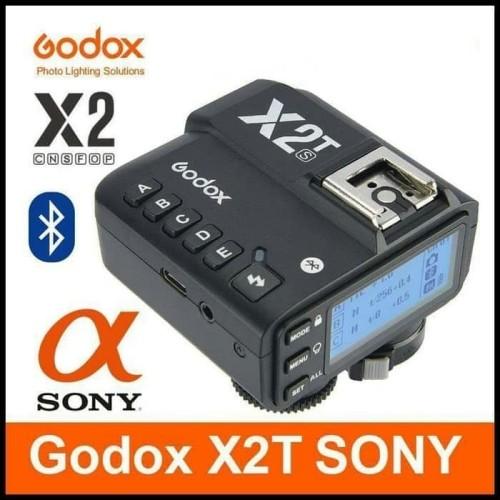 Foto Produk Trigger Godox X2T For SONY Wireless Trigger Transmitter X2T-S sony - Hitam dari salsa bercamera