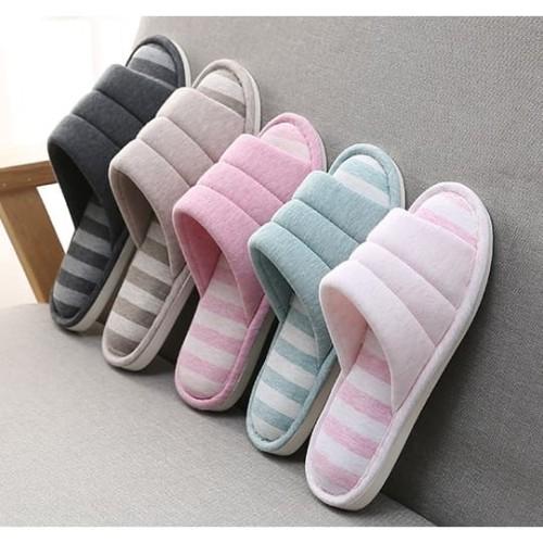 Foto Produk Sendal Rumah sandal kamar sandal hotel sandal lucu empuk anti selip - Biru Muda, 36.37 dari Nano store.