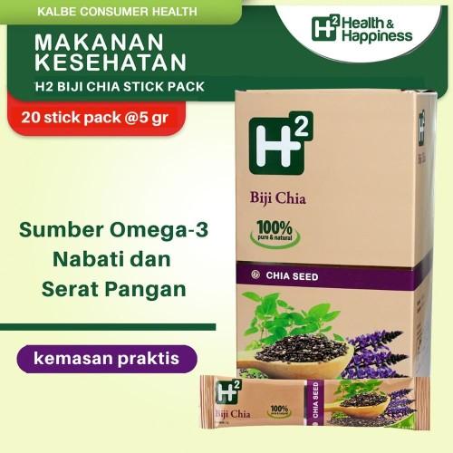 Foto Produk H2 Biji Chia 20 Stickpack dari Kalbe Consumer Health