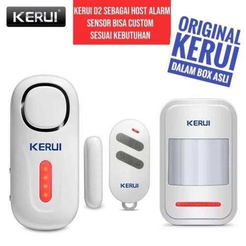 Foto Produk KERUI D2 Alarm Pintu dan Jendela dengan Remote Sensor Gerak dari Asyam Weiseman