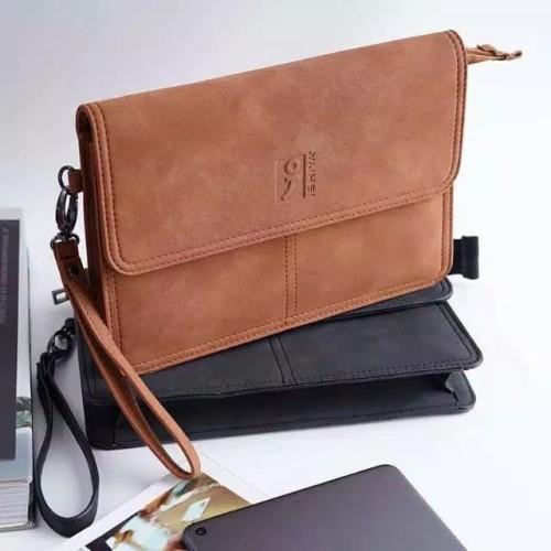 Foto Produk Clutch Bag |Handbag Pria| Tas Tangan Pria Import|-Ishiya Hyunki- - Hitam dari yeakh