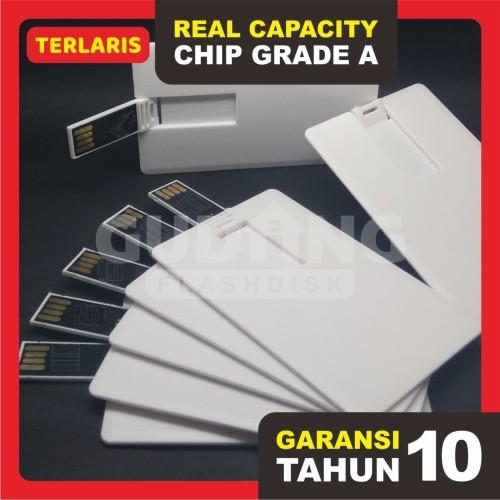 Foto Produk Flashdisk Kartu Eceran 8GB [GARANSI RESMI] dari Gudang Flashdisk Murah