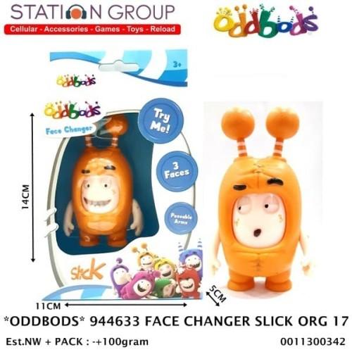 Foto Produk ODDBODS 944633 FACE CHANGER SLICK ORANGE 17 dari Station Group
