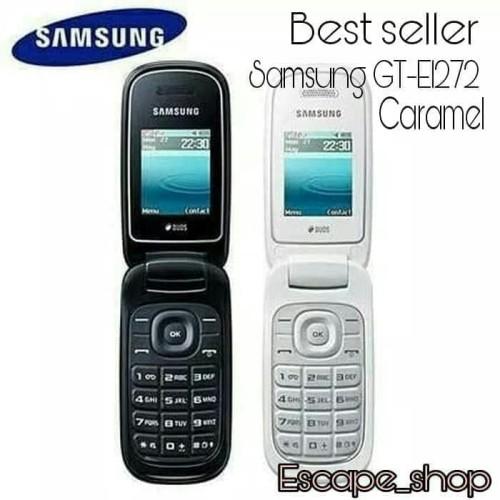 Foto Produk Hanphone Samsung Lipat Caramel GT E1272 dari Blods5574