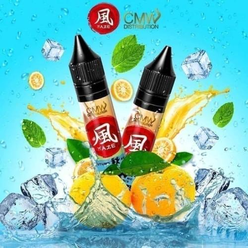 Foto Produk E Liquid   Kaze x Emkay x CMW - Autumn Aki Salt Nic dari DewaVape Shop