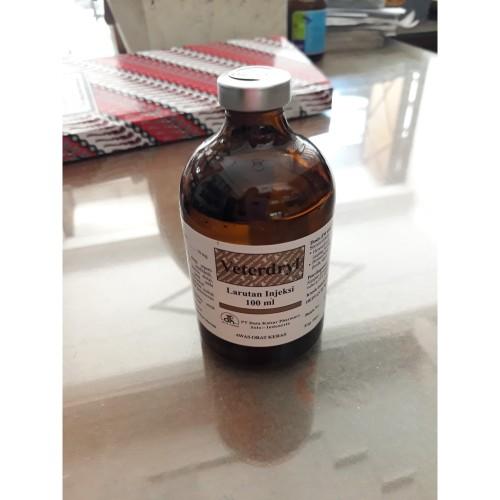 Foto Produk Veterdryl 100 ml - Obat anti alergi (antihistamine) hewan dari Lingkar Satwa
