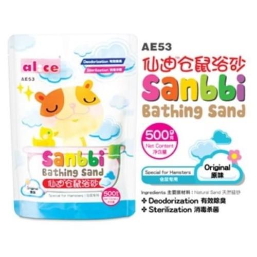 Foto Produk AE53 Alice Sanbbi Bath Sand Original 500gr Pasir Mandi Wangi Hamster dari Hime petshop