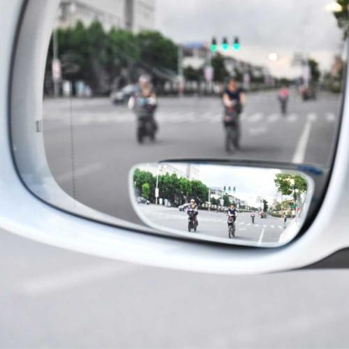Foto Produk Kaca Spion Tambahan Blind Spot Mirror Oval Wide Adjustable Mobil 070 dari lbagstore