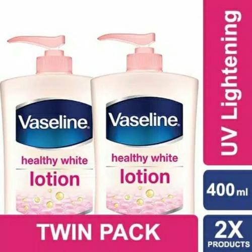 Foto Produk Vaseline Uv Lightening 400ml Hand & Body Lotion Perlindungan Dari UV dari karinOfficials