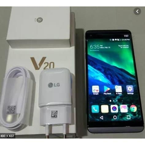 Foto Produk Handphone Baru Garansi Resmi LG V20 RAM 4GB/64GB FULLSET Garansi - Hp dari KLATEN UTAMA