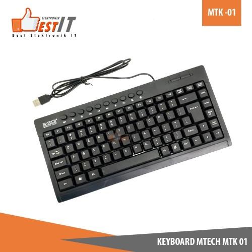 Foto Produk Keyboard Multimedia M-Tech 01 dari Best Elektronik IT