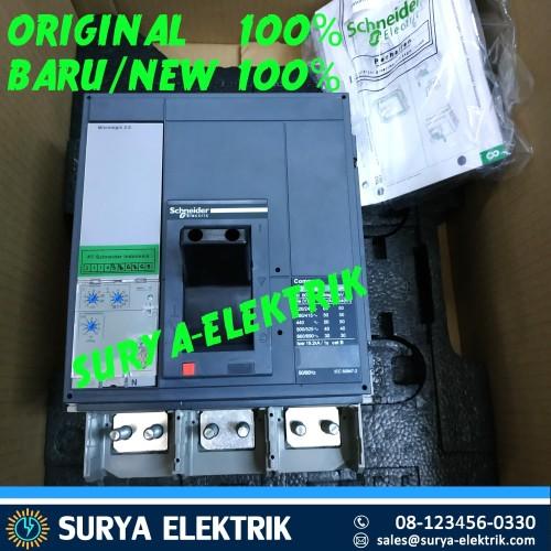 Foto Produk MCCB SCHNEIDER COMPACT NS800N NS 800N 800A 800 A 3P 3Pole 50KA 33466 dari SURYA-ELEKTRIK