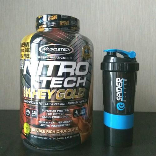 Foto Produk Muscletech Nitrotech Whey Gold 5,5lb BPOM - Strawberi dari Solid-Store