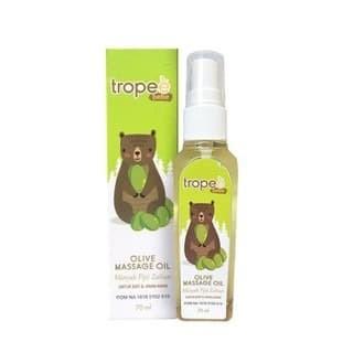 Foto Produk Tropee Olive Massage Oil 70ml dari Yen's Baby & Kid Official Shop