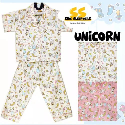 Baju Tidur Karakter Unicorn
