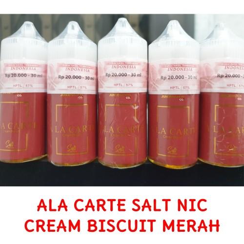 Foto Produk ALA CARTE SALT CREAM BISCUIT 25MG 30ML dari Naon wae aya